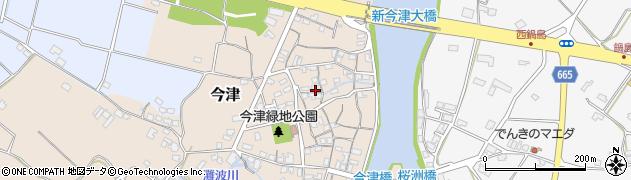 大分県中津市今津1525周辺の地図