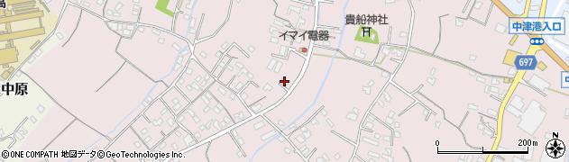 大分県中津市上如水507周辺の地図