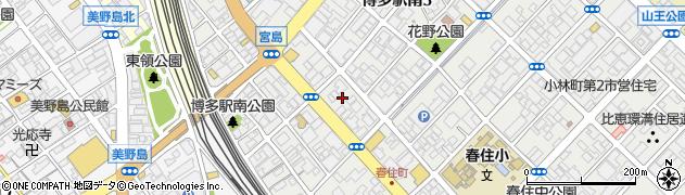 株式会社イモト 福岡店周辺の地図