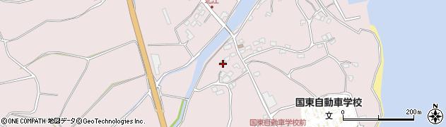 大分県国東市国東町北江4103周辺の地図