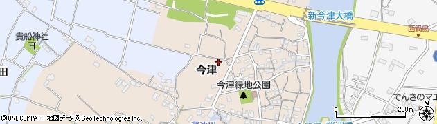 大分県中津市今津55周辺の地図