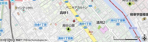 美容室アペルト(aperto)周辺の地図