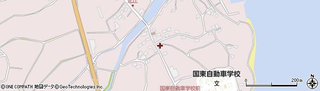 大分県国東市国東町北江4095周辺の地図