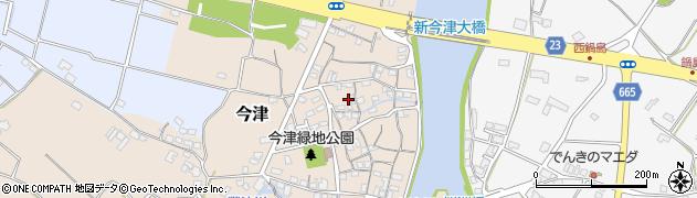大分県中津市今津90周辺の地図