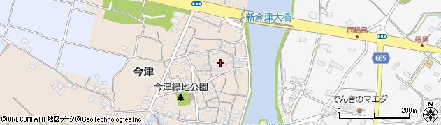 大分県中津市今津70周辺の地図
