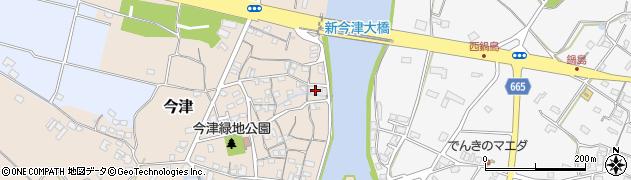大分県中津市今津136周辺の地図