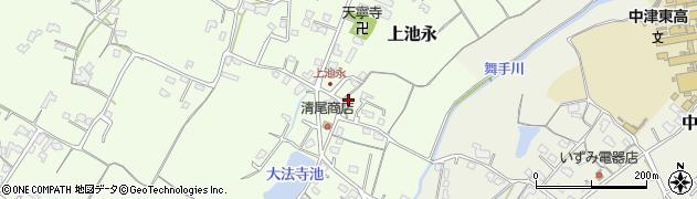 大分県中津市上池永210周辺の地図