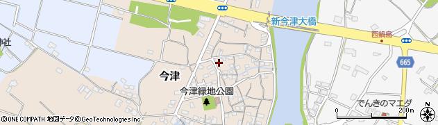 大分県中津市今津151周辺の地図