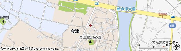 大分県中津市今津66周辺の地図