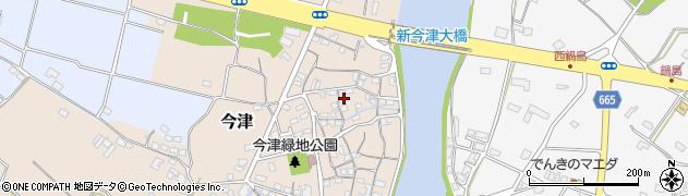 大分県中津市今津72周辺の地図