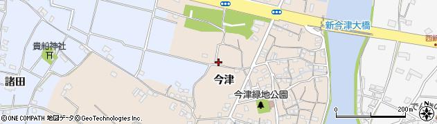 大分県中津市今津54周辺の地図
