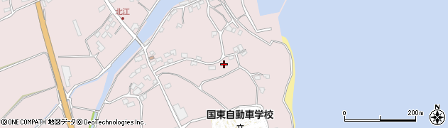 大分県国東市国東町北江4310周辺の地図