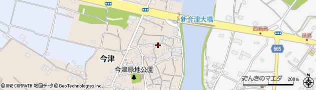 大分県中津市今津117周辺の地図