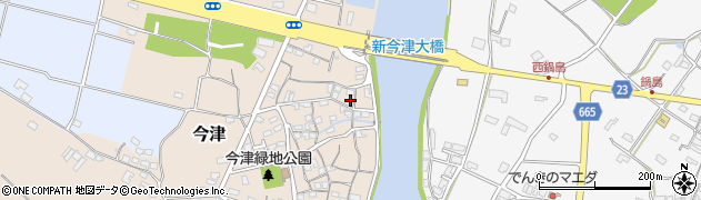 大分県中津市今津138周辺の地図
