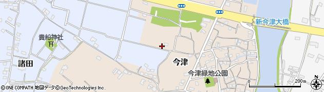 大分県中津市今津52周辺の地図