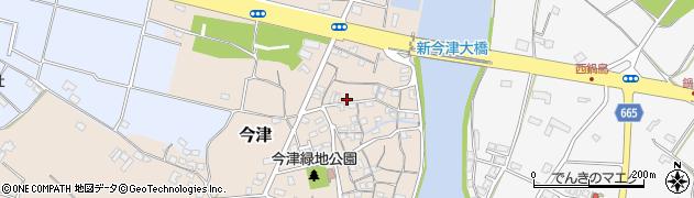 大分県中津市今津96周辺の地図