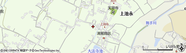 大分県中津市上池永442周辺の地図