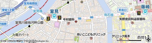 マンションさわら2 管理人室周辺の地図