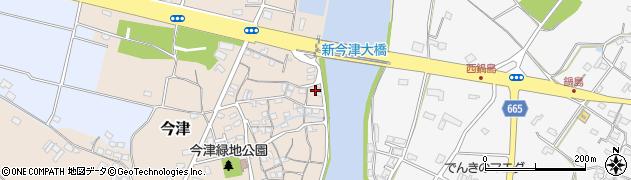 大分県中津市今津132周辺の地図