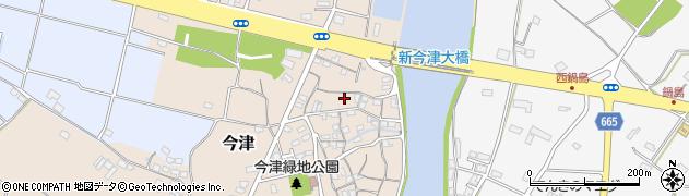 大分県中津市今津113周辺の地図