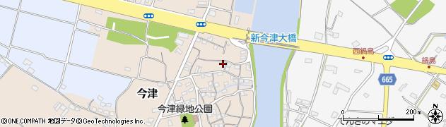 大分県中津市今津110周辺の地図