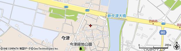 大分県中津市今津102周辺の地図