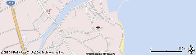 大分県国東市国東町北江4288周辺の地図