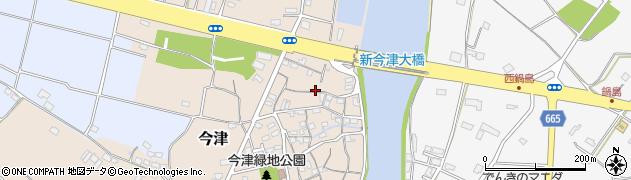 大分県中津市今津108周辺の地図