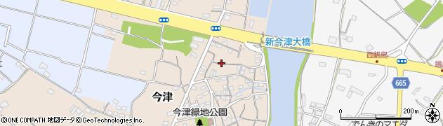 大分県中津市今津79周辺の地図
