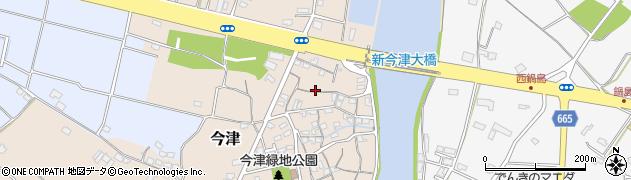 大分県中津市今津78周辺の地図