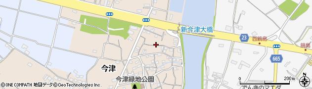 大分県中津市今津105周辺の地図