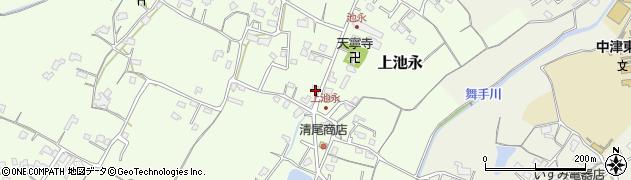大分県中津市上池永472周辺の地図
