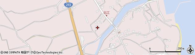大分県国東市国東町北江3721周辺の地図