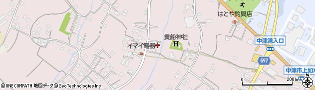大分県中津市上如水753周辺の地図
