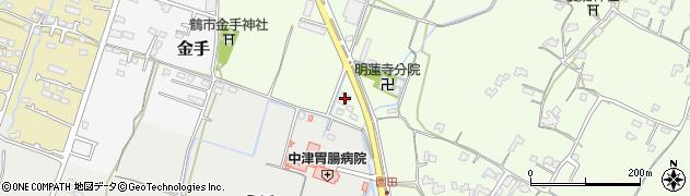 大分県中津市上池永1093周辺の地図