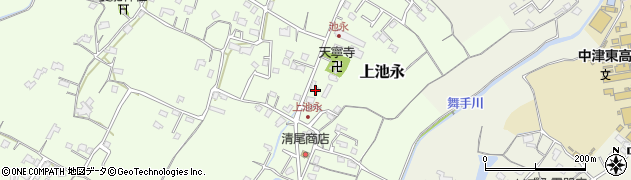 大分県中津市上池永363周辺の地図