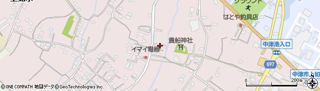 大分県中津市上如水754周辺の地図