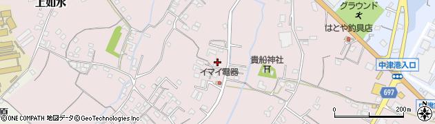 大分県中津市上如水456周辺の地図