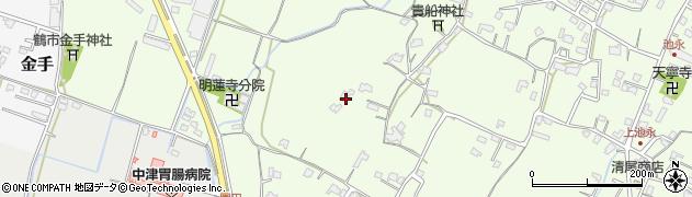 大分県中津市上池永787周辺の地図