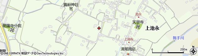 大分県中津市上池永929周辺の地図