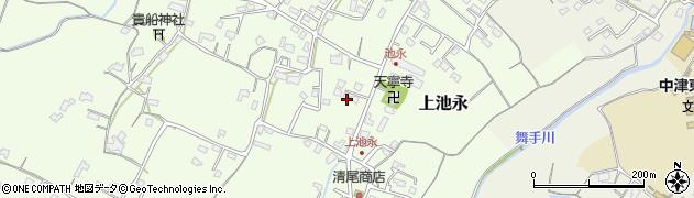 大分県中津市上池永411周辺の地図