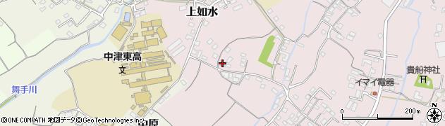 大分県中津市上如水249周辺の地図