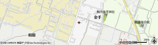 大分県中津市金手166周辺の地図
