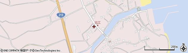 大分県国東市国東町北江3725周辺の地図