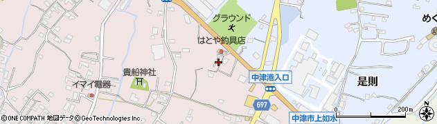大分県中津市上如水1248周辺の地図