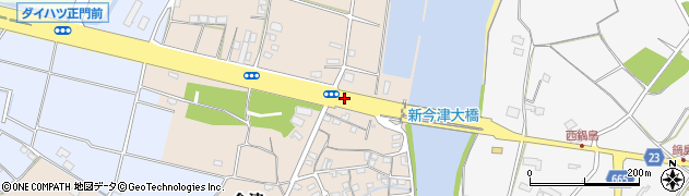 大分県中津市今津34周辺の地図