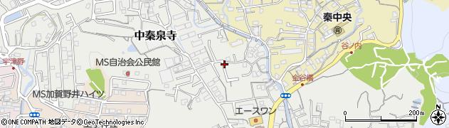 高知県高知市中秦泉寺周辺の地図