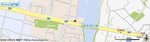 大分県中津市今津13周辺の地図