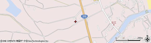 大分県国東市国東町北江3083周辺の地図
