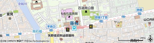 福岡県福岡市早良区周辺の地図